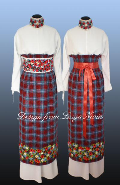 и украинский народный костюм выкройка.