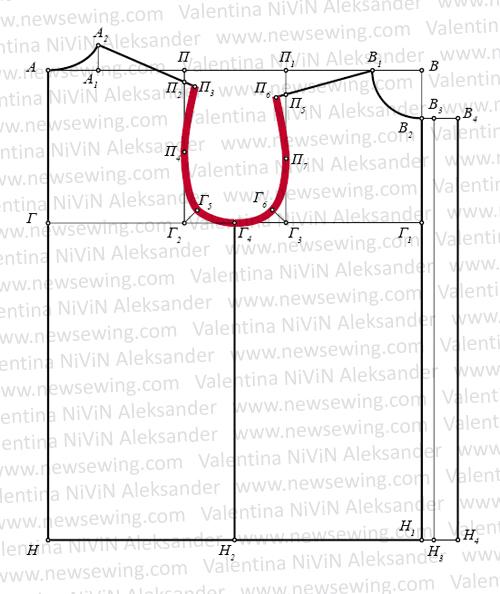 Как построить выкройку для пижамы