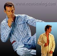 Построение выкройки мужской пижамы. Часть 3. Рукав и воротник.