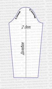 Продолжаем тему построения выкроек изделий из трикотажа...  Строим выкройку для платья из эластичной ткани.