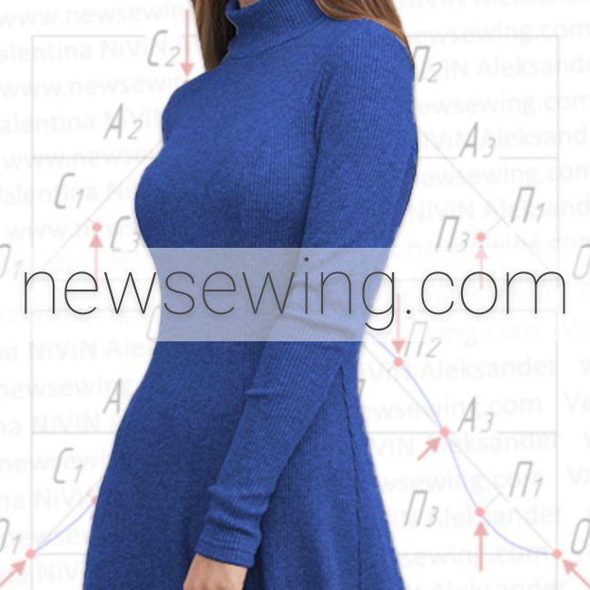 Как построить выкройку рукава для платья из эластичной ткани