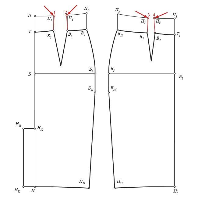 Как завысить линию талии юбки-карандаш