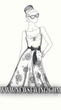 Платье на бретелях. Часть 2.
