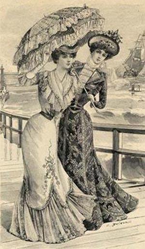 Мода эпохи модерн