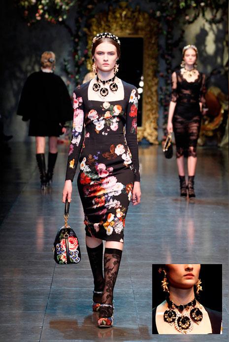 Dolce & Gabbana осень-зима 2012-2013