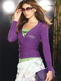 Блузка с запахом Готовая выкройка бесплатно