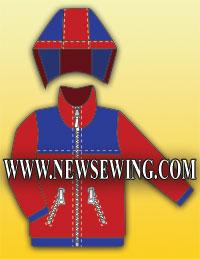 Выкройка детской курточки на рост 98–122см.