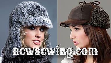 Выкройка шапки-ушанки