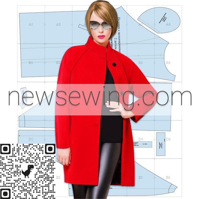 Выкройка пальто oversize скачать бесплатно